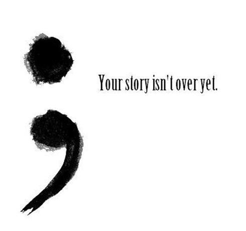 Your story isn't over yet Picture Quote #1