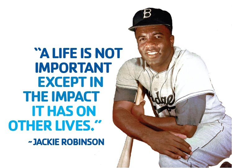 A life is not important except in the impact it has on other lives Picture Quote #2