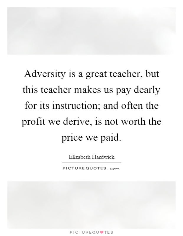 Adversity Helps Us Discover Ourselves