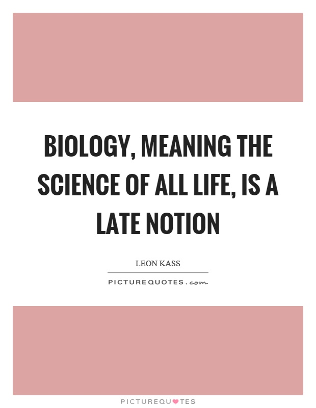 what biology means to me If you're seeing this message, it means we're having trouble loading external resources on our website.