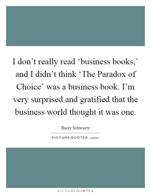 the paradox of choice pdf