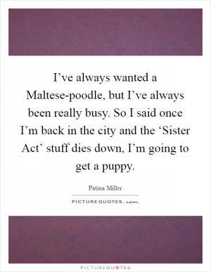 See All Patina Miller Quotes