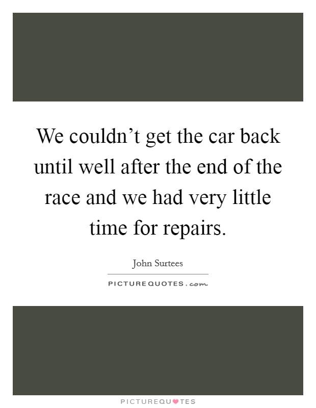 Car Repair Quote Adorable Car Repair Quotes  Car Repair Sayings  Car Repair Picture Quotes