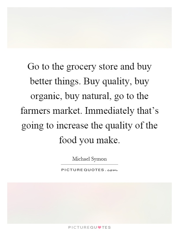 Grocery stores quotes