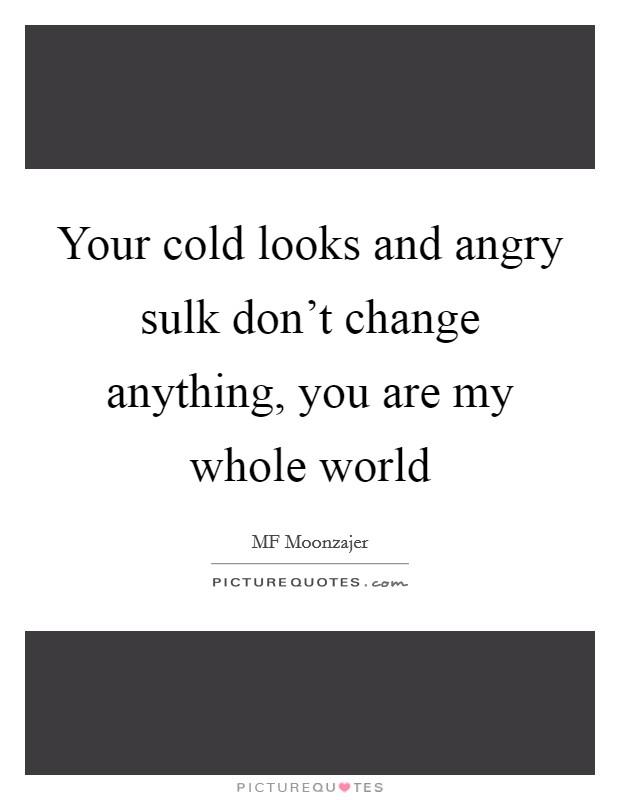 Sulk quotes