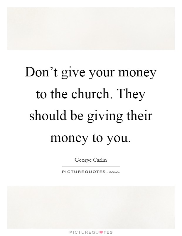 Giving Money To The Church Church Giving Q...