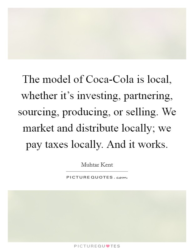 why we love coca cola commerce essay Coca-cola said: 'we believe it's a powerful ad that promotes optimism, inclusion and celebrates humanity – values that are core to coca-cola' two men, one of whom sips from a coca-cola bottle .