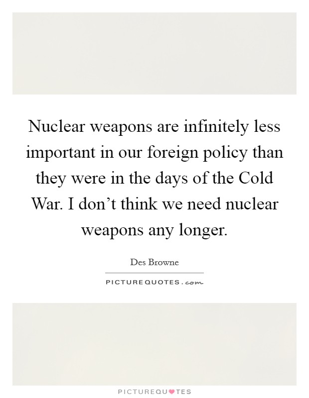 how important were nuclear weapons in Their number and role in us security have been reduced, but nuclear weapons still provide important security benefits to the united states and its allies while the prospects for moving to lower .