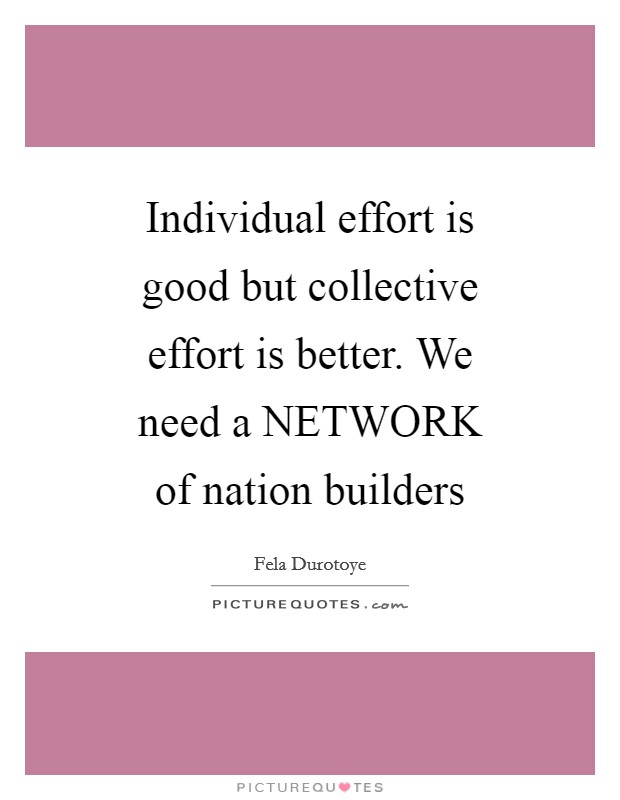 "collective effort ""collective efficacy"" is the sense among group members that they have the capability to organize and execute the actions required to achieve their most important goals."