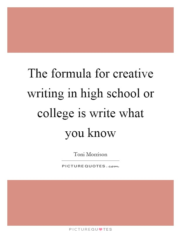 what is creative writing in high school Creative writing ideas for middle school students high school how to teach  creative writing to high school students creative writing activities for high.