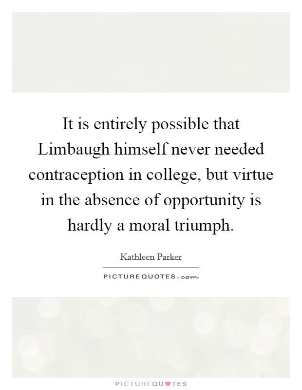 fridays moral triumph