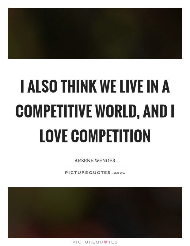 i love competition