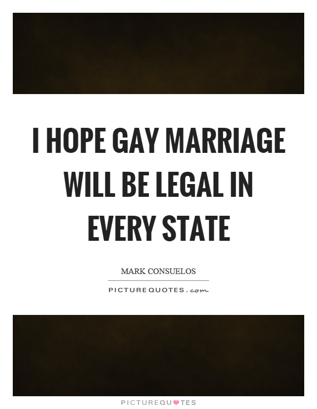 from Luka gay marriage be legal