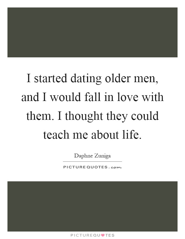 How Do Older Men Fall In Love