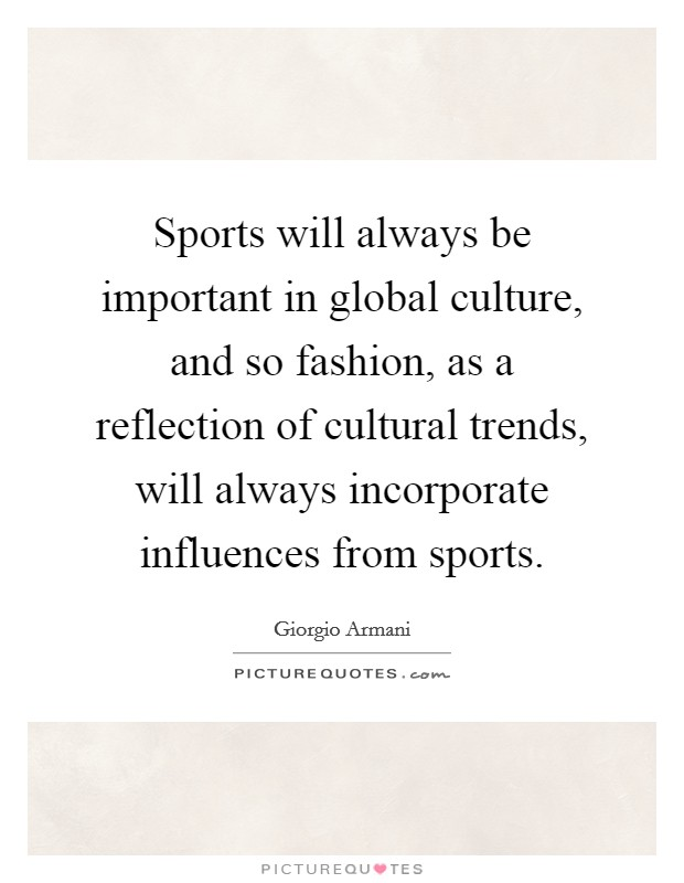 influence of culture on fashion There was a time when the concept of fashion was only in  the effect of fashion on teenagers in school  cannot earn respect due to its importance in our culture.