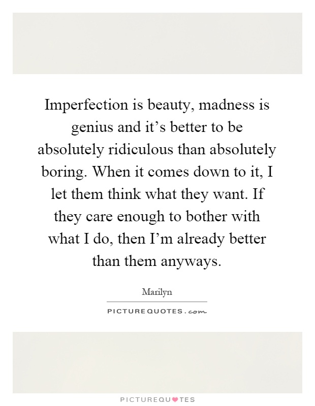 imperfection is beauty essay Only imperfection is what nearsighted aylmer sees in the birthmark on the deep beauty contained in the depth of her more about women in the birthmark essay.