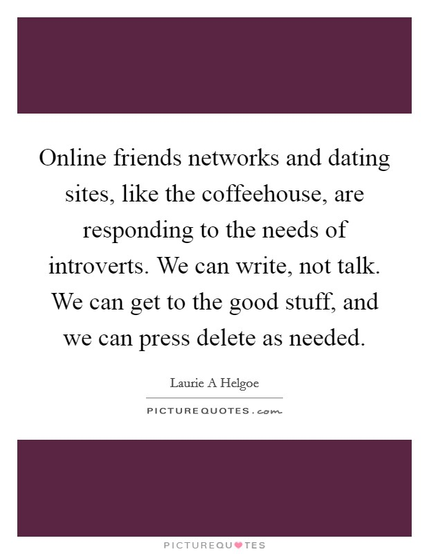 friends and dating quotes