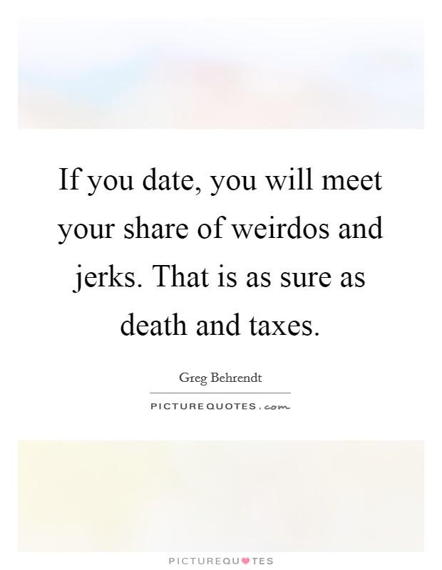 Dating for weirdos