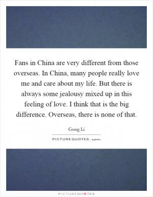 Chinese people become jealous about status more easily