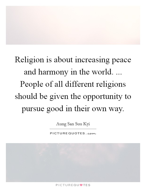 different religions of the world essay At first sight religion and geography have little in  meaning in his world, and a religious culture is one that  which religions are strongest in different .