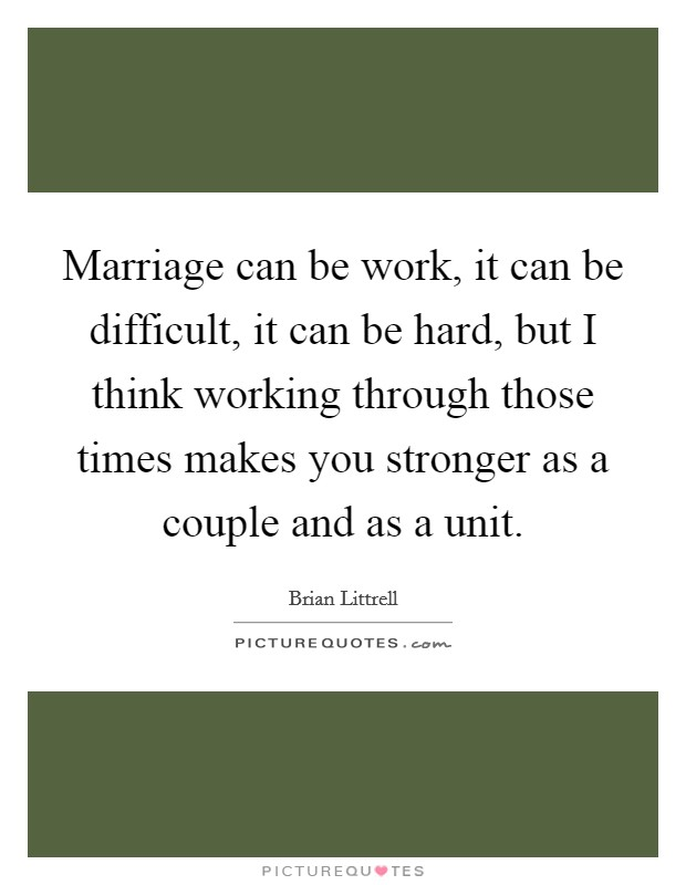 Difficult Marriage Quotes & Sayings
