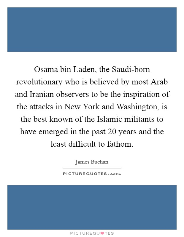 bin laden as a revolutionary Free college essay bin laden as a revolutionary robert snyder's main argument in hating america: bin laden as a civilizational revolutionary is that not.
