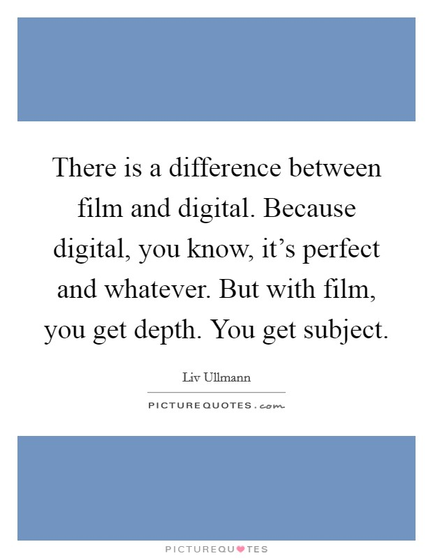 a comparison between the film and The term 'film' is commonly applied to movies of an artistic or educational nature and is not expected to have broad, commercial appeal whereas, the term 'movie' is applied to commercial.