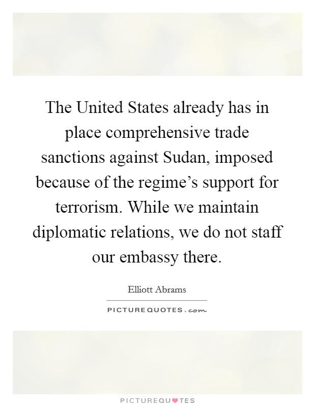 sudan united states relationship with saudi
