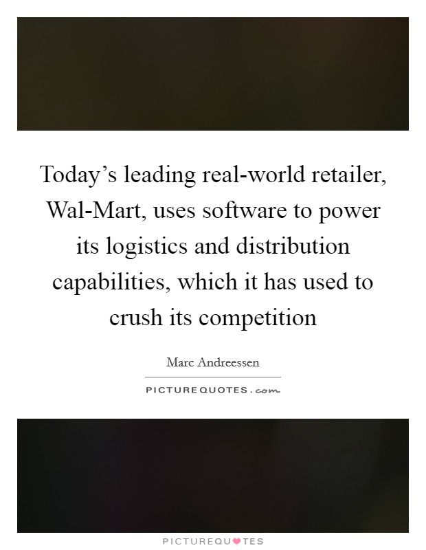 walmart s resources and capabilities Finally, lee scott loosened edlp and modified walmart's human resource practices by offering better benefits and wages to associates in response to growing social.
