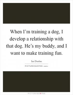All Training Is Negotiation Whether Youre Training Dogs Or