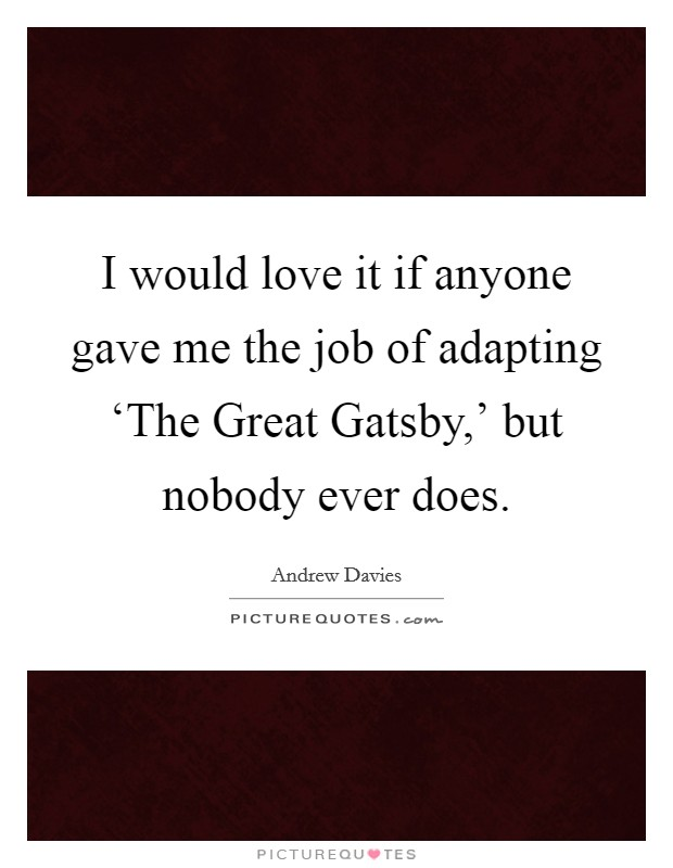 Great Gatsby Essay: The Pursuit of the American Dream