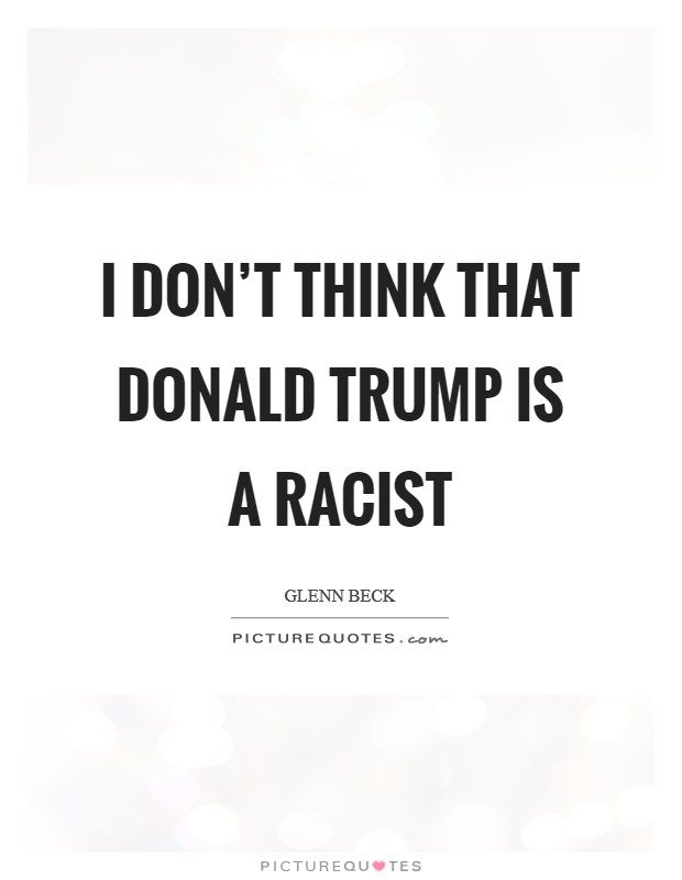 Donald trump racist quotes