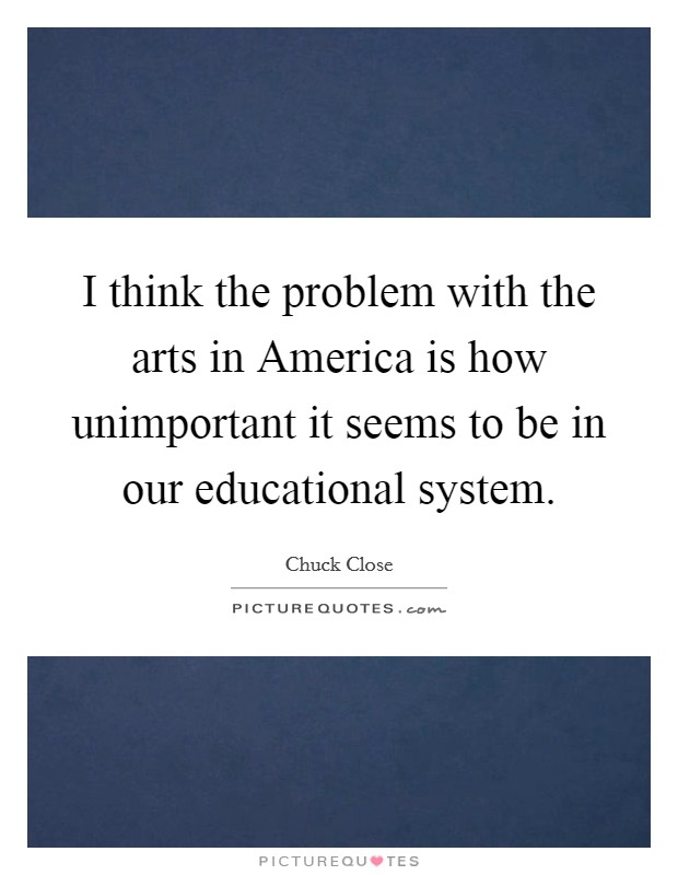problems with the us education system The us government provides compulsory education for first 12 years this education system is controlled by state government and a very little portion is held by local government, which determines the funding and school system of each municipality.