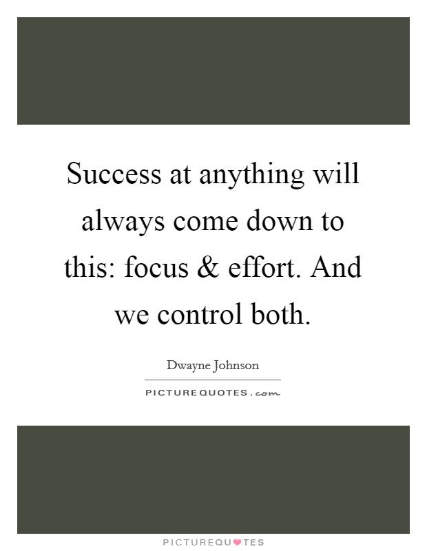Success At Anything Will Always Come Down To This: Focus