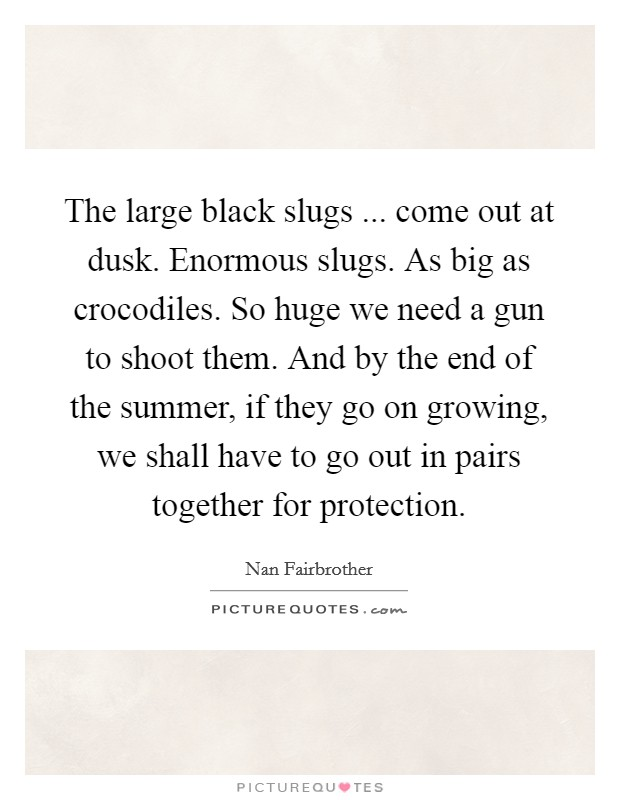 Quote we need bigger fucking guns