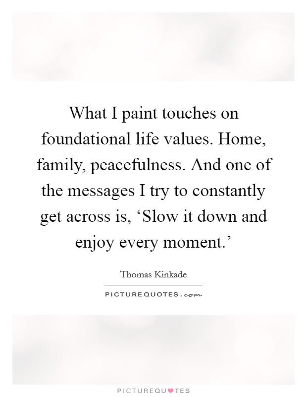 foundational values