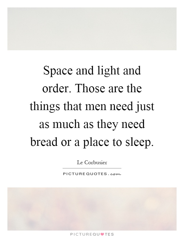 why men need space