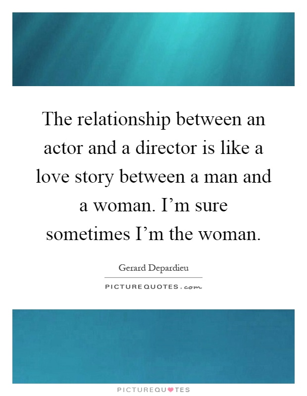 what is a relationship between man and woman