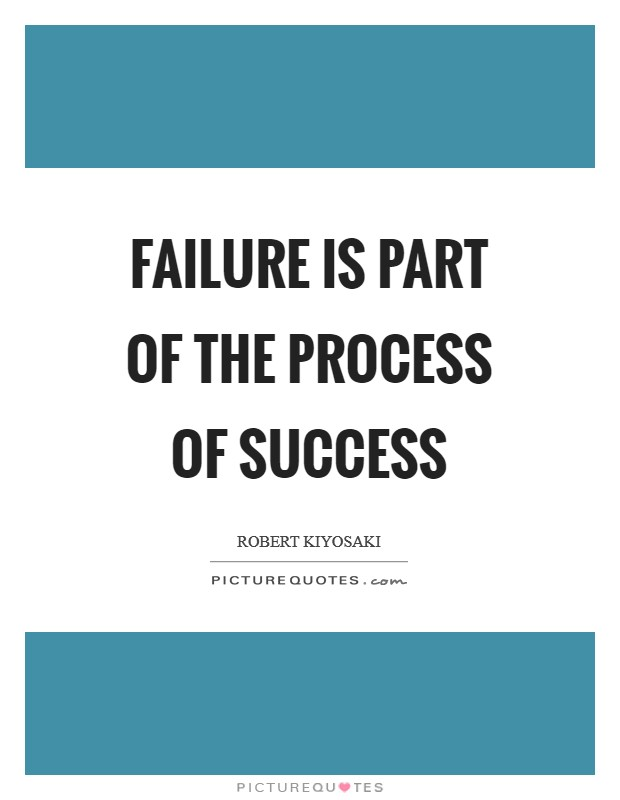 Inspirational Quotes About Failure: Failure Is Part Of The Process Of Success