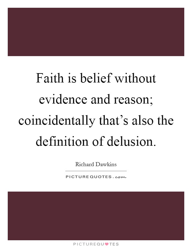 the definition of faith and reason