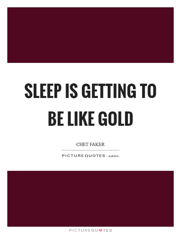 gold lyrics chet faker