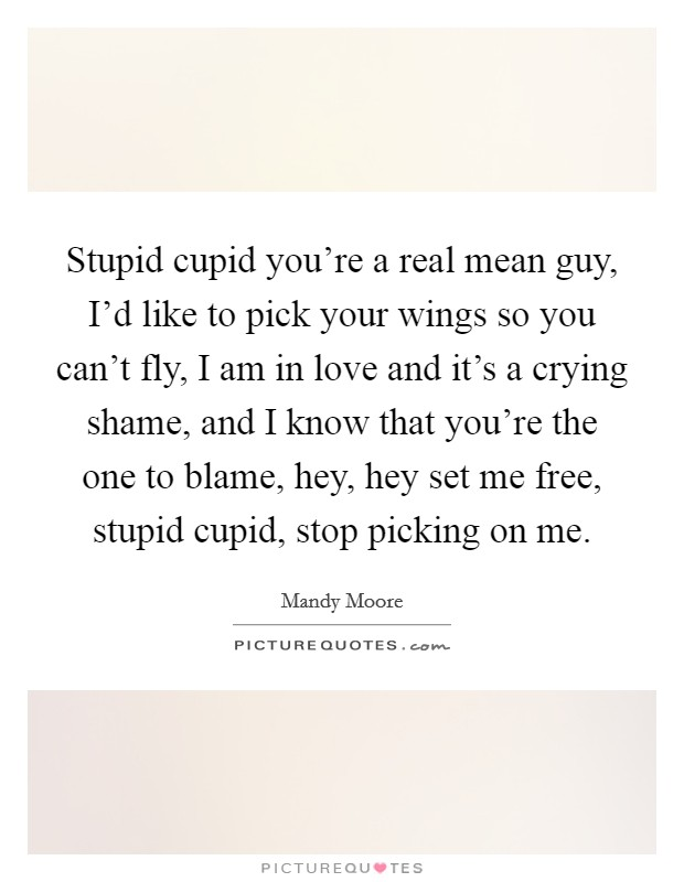 Quotes mean guy Mean People