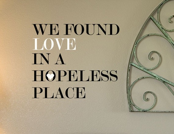 Hopeless Love Quote 4 Picture Quote #1