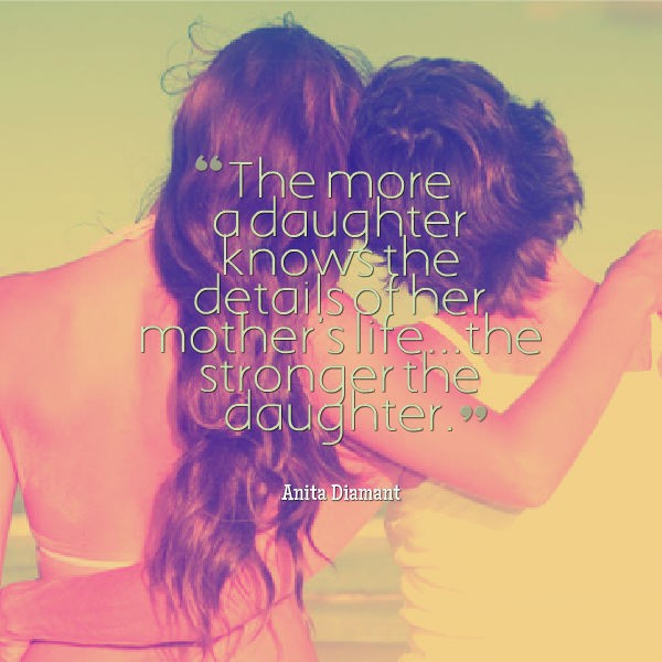 Cute Mother Daughter Quote 3 Picture Quote #1