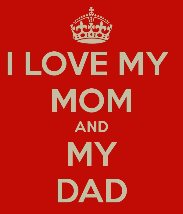 I Love My Mother And Father Quote | Quote Number 977779