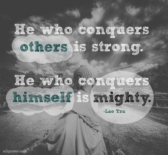 Conquer Quote About Life 1 Picture Quote #1