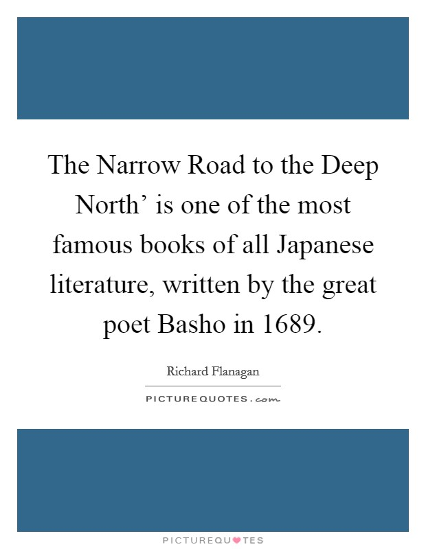 the narrow road to the deep north 2 essay