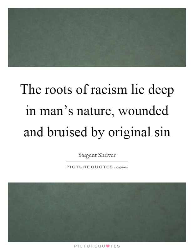 the roots of racism This is the second in a series by fannie leflore, ms, lpc, sac, on the traumatization of america due to systemic racism, socioeconomic disorder and polit.