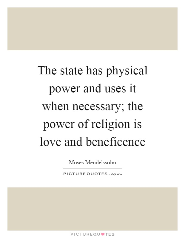 the power of religion Though we can't prove the existence of one (or many) god(s), we can provide evidence for the power of religion for good or for evil, faith factors into our everyday.