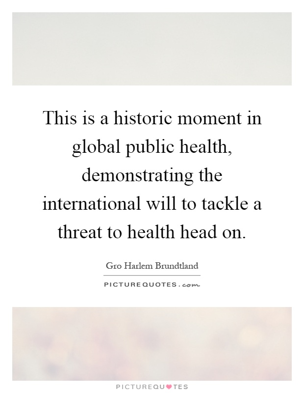 the global public health threats in Editor's note: in advance of the many health-related discussions to take place in september at the clinton global initiative, the social good summit, un week and other such events, the skoll .